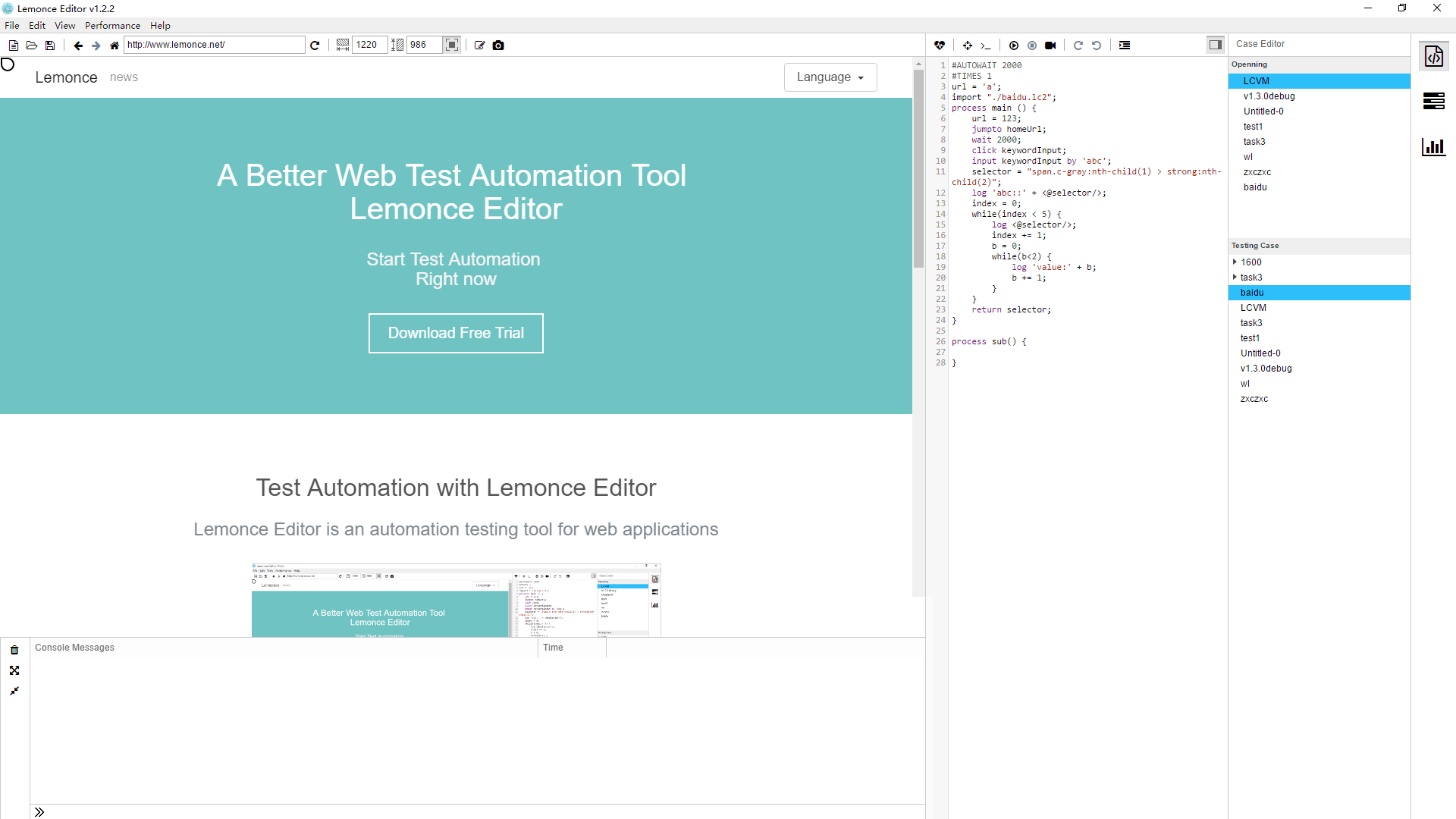 Test Automation Tools Open Source
